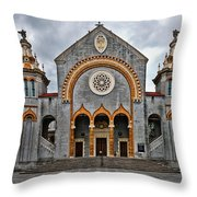 Flagler Memorial Presbyterian Church Throw Pillow