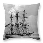 Flags A Flying Throw Pillow