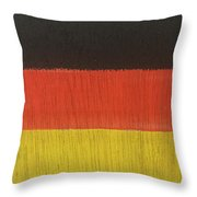 Flags Of The World - Germany 15-r12 Throw Pillow
