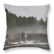 Flambeau Fog Throw Pillow