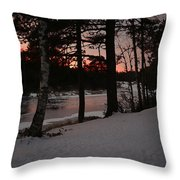 Flambeau Sunset Throw Pillow