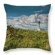 Flamborough Lighthouse, North Yorkshire. Throw Pillow
