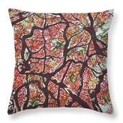 Flamboyants In The Sky Throw Pillow