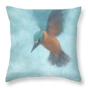 Flame In The Mist Throw Pillow