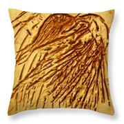 Flamenco - Tile Throw Pillow