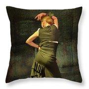 Flamenco #21 - Attitude Throw Pillow