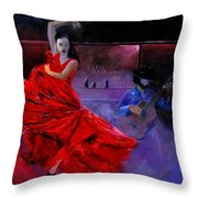Flamenco 88 Throw Pillow