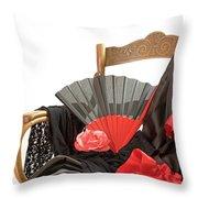 Flamenco Clothing  Throw Pillow