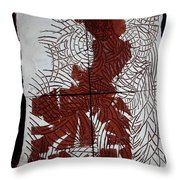Flamenco Lady 5 Throw Pillow