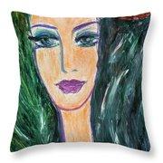 Flamenco Nights - Madalena Throw Pillow