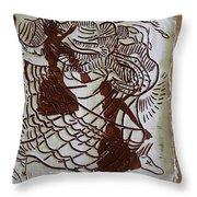 Flamenco Passion 1 Throw Pillow