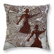 Flamenco Passion 3 Throw Pillow