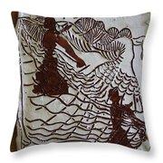 Flamenco Passion 4 Throw Pillow
