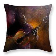 Flamencoscape 14 Throw Pillow
