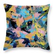 Flamingo Dash Throw Pillow
