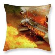 Flam'n Throw Pillow