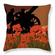 Flanders Fields 1 Throw Pillow
