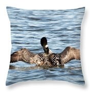Flapping Wings Throw Pillow