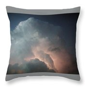 Flash Bulb Throw Pillow
