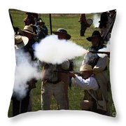 Flash Fire Throw Pillow