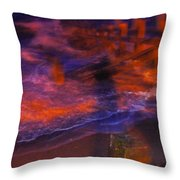 Flash Of Confusion Throw Pillow