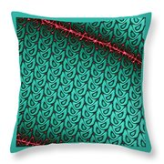 Flash Of Wit Throw Pillow