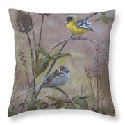Flashy Friend Throw Pillow