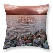 Flathead Lake 7  Throw Pillow