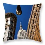 Flatiron District Throw Pillow