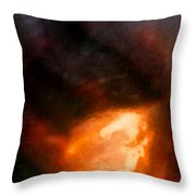 Flatius Throw Pillow