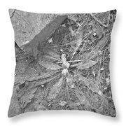 Flattened Throw Pillow