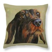 Flavi Throw Pillow