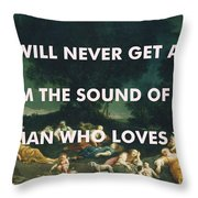 Fleetwood Mac Art Print Throw Pillow