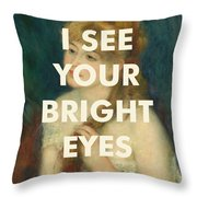 Fleetwood Mac Lyrics Print Throw Pillow