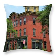 Flemington Main Street Throw Pillow