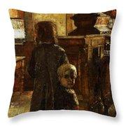 Flemish Tavern Throw Pillow