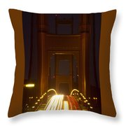 Flesh And Blood Throw Pillow
