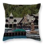 Fleur De Lac Mansion The Godfather II Throw Pillow