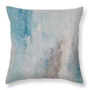 Fleurette Throw Pillow by KR Moehr