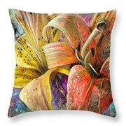 Fleurs De Lys 01 Throw Pillow