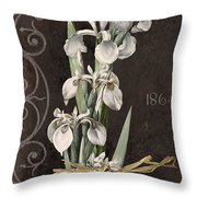 Fleurs De Paris II Throw Pillow