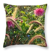 Fleurs Des Champs Throw Pillow