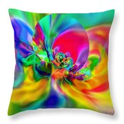 Flexibility 20ca Throw Pillow