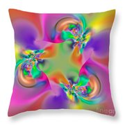 Flexibility 34ea Throw Pillow