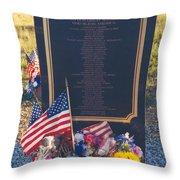 Flight 93 Heros Throw Pillow
