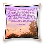 Flight Of Happiness Throw Pillow