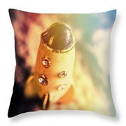 Flight Of Space Fiction Throw Pillow