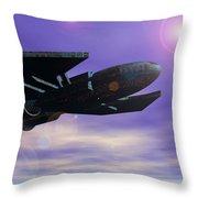 Flight Of The 501st Phoenix Throw Pillow