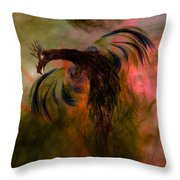 Flight Of The Phoenix Throw Pillow