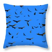Flight Of The Vultures Throw Pillow